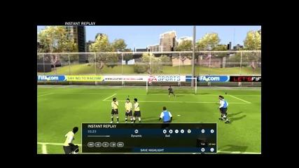 Fifa 10 - Гол на Шави
