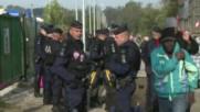 France: Bulldozers rip through Calais camp during eviction