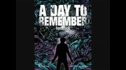 A Day To Remember - If It Means Alot To You