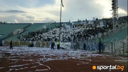 Финал за купата на България ! Феновете на Славия