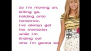 New Превод ! Hannah Montana Forever wherever I Go Feat Lily With Lyrics On Screen (new Song 2010)