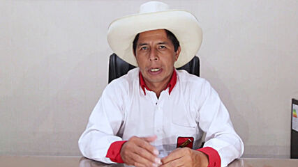 Peru: Pedro Castillo calls for second election round without 'attacks' or 'low blows'