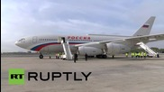 USA: Putin arrives at JFK Airport ahead of UN General Assembly address