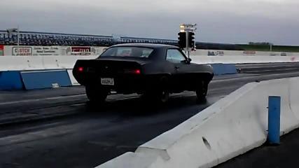 Ненормално ускорение на Chevrolet Camaro 11s