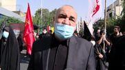 Iran: Thousands of Shia Muslims join Arbaeen procession in Tehran