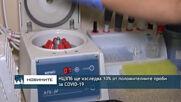 НЦЗПБ ще изследва 10% от положителните проби за COVID-19