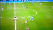 Еден Азар отново показва футболните си умения (17.03.13)