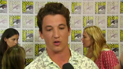 Miles Teller On 'Fantastic Four' At Comic-Con