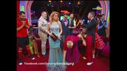 Dancing Stars - Албена Михова и Петьо куикстеп (01.04.2014г.)