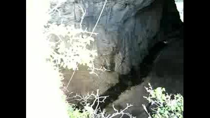 Бънджи В Деветашката Пещера