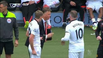 Хъл Сити - Манчестър Юнайтед 0:0