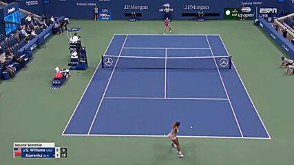Serena Williams vs Victoria Azarenka Full-match Highlights - Sf Us Open 2020 9102020
