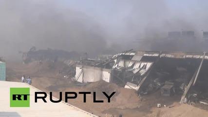 Yemen: Saudi airstrike hits port of Hodeidah