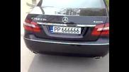 Mercedes - Benz E 350 Cdi 4 Matic със рег.номер 666666