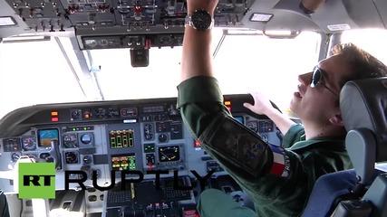 Франция: Търсенето на останките от Малайзийския замолет MH31 продължава