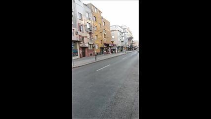 Не качествен ремонт на улица