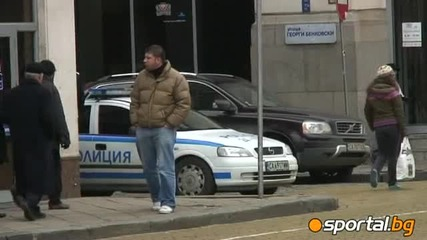 150 сини запалянковци на протеста - полицията ги обгради (видео) - Бг Футбол - Sportal.bg