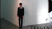 Снимане на фотосесия с И Мин Хо }{ Lee Min Ho }{ Trugen S+ }{ 2011
