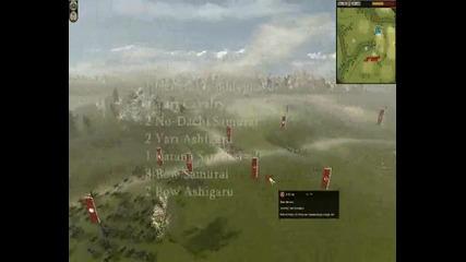 Shogun 2 Total War Online Battle #011 Black Knight vs 32| icedz