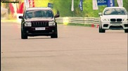 Bmw X6 M stage 2 vs Jeep Srt8 superchaged