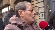 Belgium: Police secure the area following Schaerbeek shooting in Brussels