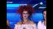Halloween вечер с Жана Бергендорф X Factor (31.10.13)