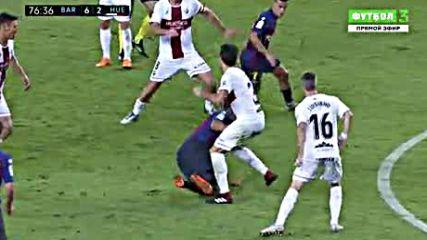 Primera Division 2018_2019 3. Round Fc Barcelona vs Sd Huesca 2 тайм