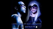 Exclusive Lady Gaga feat. Ray Lavender - Monsta (prod. by Gybson of Konvict)