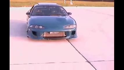 Tунинговано Mitsubishi Eclipse Gs Turbo + Яки Джанти !