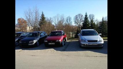 Опел клуб Благоевград заедно с колегите от Перник