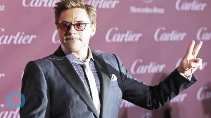 Robert Downey Jr. Presents Iron Man Bionic Arm to 7-Year-Old Boy