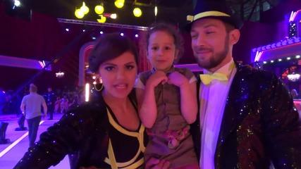 Dancing Stars - Михаела и Светльо честитят 1-ви юни с песен (27.05.2014г.)