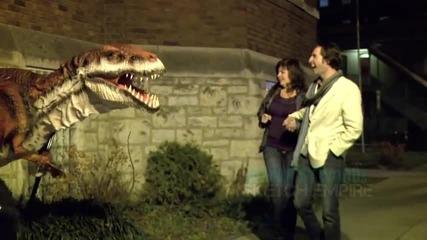 Готина шега с динозавър (смях)