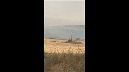 Пожар в село Гиген