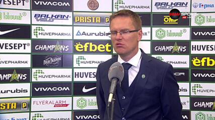 Дабраускас: Искам да поздравя Локомотив, спечелиха заслужено
