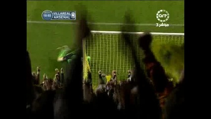 07.04 фантастичен гол на Маркуш Сена Виляреал - Арсенал 1:1