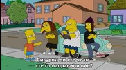 The simpsons s22 e10 Hd Bg sub