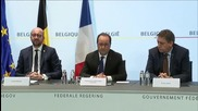 Belgium: 'Our battle isn't over'- Hollande responds to Paris suspect's arrest