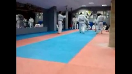 Видео от Okinawa Karate Bulgaria - Shorin Ryu 10 декември 2010 г. 21 43