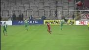 Феноменален гол на Бергонси срещу Литекс