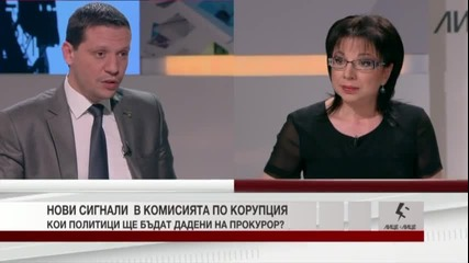 Илиян Тодоров - Лице в лице - Нови сигнали в Комисията по корупция. / Тв Alfa - Атака 21.03.2014г.