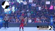 سينا وساشا يدمران الجميع لأجل سمرسلام – WWE توب 5