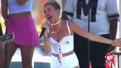 Разплака се ! Miley Cyrus - Wrecking Ball