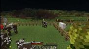Minecraft Тройно Оцеляване еп 16 Обзавеждане на Chest Room a