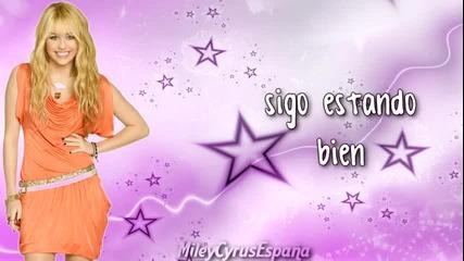 Hannah Montana Forever - Im Still Good Spanish Lurics