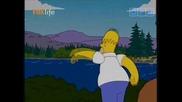 Семейство Симпсън - Дебелият и коженият С15е05 23.03.10