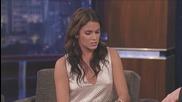 Nikki Reed on Jimmy Kimmel Live Part 1