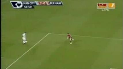 Манчестър Сити - Фулъм 2:2 и страхотен гол на Мартин Петров