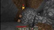 Minecraft-стълби,започвам да правя нещо като връх шипка 1част