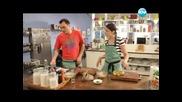 Алмойшавена, салата от черна леща, ризото с калмари. - Бон Апети (28.05.2013)